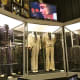 Some of Presley's costumes on display at Graceland.