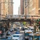 ChicagoAverage hours spent in congestion a year: 57Chicago's I-90/I-94 southbound is one of the 10 most congested roads in the country.Photo: Shutterstock