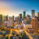 HoustonAverage hours spent in congestion a year: 50In the 11th worst traffic jams in the country, Houston commuters spent 7% of their time sitting in traffic.Photo: Shutterstock