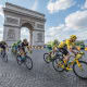16. FranceOvershoot day: May 5Ecological footprint per person: 4.7 (11.6 acres)Bikers race in the 2016 Tour de France in Paris.Photo: Frederic Legrand-COMEO / Shutterstock