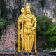 21. MalaysiaOvershoot day: May 19Ecological footprint per person: 4.4 (10.9 acres)Above, the Batu Caves statue and entrance near Kuala Lumpur.Photo: Shutterstock