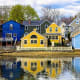 4. New HampshireCost of living ranking: 43Taxes ranking: 7Fourth-place New Hampshire is the safest place to live, provides excellent health care, low taxes and has plenty of things to do. But the state ranks poorly on cost of living--43 out of 50--and weather. Pictured is Portsmouth.Photo: Shutterstock
