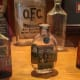 """During Prohibition, the distillery was allowed to remain operational in order to make whiskey for """"medicinal purposes."""" These are actual packaging of """"medicinal"""" whiskeys produced during that time.Photo: TheStreet"""