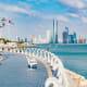 Abu Dhabi, United Arab EmiratesAccording to Gulf News, in August the city of Abu Dhabi deployed 4,000 workers on two round-the-clock shifts to keep the city clean during Eid Al Adha, an important Islamic holiday.Photo: Shutterstock