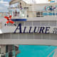 ZiplineLots of cruises offer zipline excursions, but on the Allure of the Seas, you can do it right there on the boat. Or watch Santa give a try.Photo: Royal Caribbean