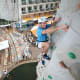 Climbing WallPractice your agility and challenge your fear of heights on a climbing wall high above the ocean. When you get hot and tired you can...Photo: Royal Caribbean