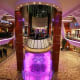 ... Have a Drink in an Elevator BarThe Rising Tide Bar, on Royal Caribbean's Allure of the Seas, transports guests up and down three decks, over the space of half an hour, from the ship's promenade to its Central Park.Photo: Royal Caribbean