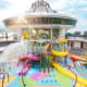 Aqua ParkKids onboard Liberty of the Seas have their own adult-free zone at Splashaway Bay, an aqua park featuring an interactive kid's play area with water cannons, geysers and other ways to get soaked. And while they are busy with that, you can go...Photo: Royal Caribbean