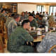 24. SingaporePercent of GDP spent on military: 3.35%Singapore armed forces and U.S. service members share tea during a break in training exercises in Hawaii.Photo: Sgt. Anita VanderMolen