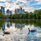 AtlantaMedian sales price: N/APrice per square foot: $231Market health score: 8 - very healthyHomes with negative equity: 19.5%The median listing price in Atlanta is $329,000, according to Zillow.Photo: Shutterstock