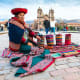 Cusco, PeruOnce the capital of the Incan empire, high-altitude Cusco is famous for its ruins, stone streets, Qoriacancha palace and the church of Santo Domingo on the Plaza de Armas, the central square. Above, native weavers, dressed in traditional clothing, demonstrate their handicraft.Photo: Pakhnyushchy/Shutterstock