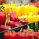 A single sweet bell pepper sample contained 15 pesticides..