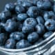 Domestic blueberries had more pesticide residue than the imported ones, which are No. 20 on this list.