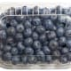 Imported blueberries typically come from Canada and South America.