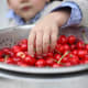 Some of the 42 pesticides found on cherries by the USDA contain neurotoxins and developmental or reproductive toxins, according to What'sOnMyFood.org.