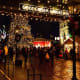 The Christmas market features beer gardens, walking tours, a St. Nicolas celebration, and entertainment including singers, brass bands, cultural dancers, and carolers.Photo:Thane Lucas/lucasdigitalart.com
