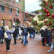 Each year Toronto's Christmas market is held in the Distillery District. The market isranked by many as one of the world's best Christmas markets.Photo: AnjelikaGr / Shutterstock