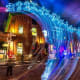 The district is a haven of public art. Each year there is a light festival where artists are invited to create installations.Photo:John Simpson Photography / Shutterstock