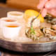 Kumamoto oysters served at Pure Spirits on Tank House Lane.Photo: Pure Spirits Oyster House & Grill