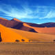 Namib Naukluft National ParkNamibiaThis park includes part of the Namib Desert, the oldest desert on earth, with massive, constantly shifting sand dunes and the Naukluft mountain range. The mountains occasionally get heavy rainstorms in summer that support a variety of plants and wildlife.Photo: Shutterstock