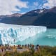 Los Glaciares National ParkArgentinaThe stunning landscapes of Los Glaciares National Park feature dramatic icefalls, glacial lakes, and jagged peaks. The park is home to many birds, such as condors and black-chested buzzard eagles.Photo: Shutterstock