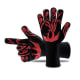 Kevlar Hot GlovesA must-have for protecting your hands when grilling outdoors. They're made of Kevlar, and with five fingers, you can still show your team who's No. 1. There are several brands, prices vary. These shown are made by AIMBIG.Photo: AIMBIG