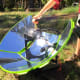 "Solar Cooker Camp Stove $389 by One Earth DesignsGrill those wieners with the power of the sun. This solar cooker featured on ""Shark Tank"" harnesses solar energy directly by reflecting and intensifying the sun's rays.Photo: One Earth Designs"