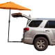 Tailbrella$140 by TailbrellaThis tailgater's 9-foot umbrella attaches to the trailer hitch and comes in nine colors, including Digital Camo.Photo: Tailbrella