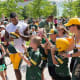 Green Bay, Wis.Current average summer high: 78 FSummers here at the end of the century will be like summers now in Miami: 89 FAbove, the Green Bay Packers' DeAngelo Yancey signs autographs for young fans after football practice in 2017.Photo: James.Pintar / Shutterstock