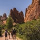 24. Colorado Springs, Colo. Residents here are among the most active of all the cities. Above, Garden of the Gods public park in Colorado Springs.Photo: Shutterstock