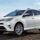 """Starting price: $22,395Vehicles sold in 2017: 407,594For years, it was """"the one with the wheel on the back"""" among a field of crossovers. Today it's Toyota's best-selling vehicle and the top-selling vehicle in the U.S. that isn't a pickup truck. It hasn't been drastically redesigned since 2013, but buyers really don't seem to care. There are 38 cubic feet of cargo space -- 73 with the rear seats folded flat -- accessible through a power liftgate. Heated front seats, LED headlights, back-up camera, blind-spot warning system, dual-zone climate control, power moonroof, Apple Siri Eyes Free and reclining rear seats have all helped give the RAV4 some breathing room among the other small crossovers."""