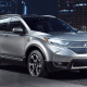 """Starting price: $24,150Vehicles sold in 2017: 377,895Putting a small SUV onto a Honda Civic's frame turned out to be one of the best moves Honda has ever made. The CR-V has been kicking around since 1995, but it remains relevant thanks to 2017 upgrades including a power lift-gate, Android Auto, Apple CarPlay and the """"Honda Sensing"""" safety package of anti-collision features. It helped U.S. vehicle buyers transition from SUVs to more efficient car-based crossovers and saw sales increase 5.8% in 2017 alone."""