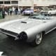 Cadillac Cyclone, 1959Another concept inspired by the aviation and rocket design of the era, the Cyclone was silver coated for UV protection, hada bubble-top canopy that could be opened automatically, and sliding electric doors.Photo: Yahya S./Wikipedia