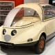 The Citroën Prototype C, 1956The Citroën Prototype C was a series of concepts created from 1955-56 to produce a waterdrop-shaped, lightweight vehicle which would be more modern and smaller than France's popular 2CV, and had the same 425cc engine as the 2CV. The car was nicknamed Citroën Coccinelle (French for 'ladybug'.)Photo: Thesupermat/Wikipedia