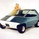 """AMC Amitron, 1967The AMC Amitron was an experimental electric hatchback that had canopy doors and a range of 150 miles on a single charge. In 1967. Yes, you read that right. Twenty-five years before """"Wayne's World."""" AMC didn't develop the car because of technology issues and the expensive batteries.Photo: Wikipedia"""