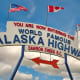 The Alaska Highway, or the ALCAN, starting in Dawson Creek, B.C., is paved but sections are often under construction. There's no shortage of beautiful scenery and wildlife along this trip.Photo: Shutterstock