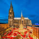 Cologne, GermanyDates: Nov. 26 - Dec. 23, 2018The aroma of baked apples, cinnamon biscuits and mulled wine waft through the alleys of Cologne this time of year. It is one of Germany's most popular Christmas destinations. Cologne has several markets through out the city.Photo: Shutterstock