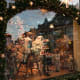 Basel, SwitzerlandDates: Nov. 22 - Dec. 23, 2018The quaint Christmas market can be found on Barfusserplatz and Munsterplatz, right in the centre of Basel and at the heart of the festively decorated Old Town. Above, dolls and toys on display in the toy museum.Photo: Pierre-Olivier / Shutterstock