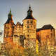 Montbeliard, FranceDates: Nov. 24 - Dec. 24, 2018The Chateau Montbeliard, above, is a castle dating back to medieval times that overlooks the town of Montbeliard. During the Advent, the town is lit by 65,000 lights burning in the winter sky, arranged in arches and pyramids, like enormous multi-coloured canopies.Photo: Shutterstock