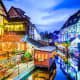 Colmar's six Christmas markets fill a labyrinth of small streets lined with centuries-old half-timbered houses. The historic setting is made even more magical by the festive lights.Photo: Shutterstock