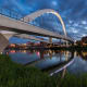 Des Moines, Iowa Annual expenses: $37,840 Median home price: $130,800 Above, the Iowa Women of Achievement Bridge over the Des Moines River.Photo: Nagel Photography/Shutterstock.com