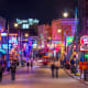 Memphis, Tenn. Annual expenses: $33,859 Median home price: $82,600 Retirees who enjoy music and nightlife might like Memphis. Above, neon signs light up the blues clubs on Beale Street.Photo: f11photo/Shutterstock