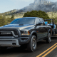 """Starting price: $27,095The lightweight aluminum body and 3.6-liter V6 engine are nice, but it's the waterproof, drainable RamBoxes in the sidewalls of the bed that'll help you be kind to others. Ram says those boxes """"fit up to 240 cans of your favorite beverage in a 5'7 bed or 280 cans in a 6'4 bed configuration"""" apiece. In a truck with 74.7 cubic feet cargo capacity and 1,300 to 1,600 pounds of payload capacity, that's not just some tailgate trinket: That's a day of """"helping."""" If you've ever owned a truck before and seen the look in your friends' eyes when they size up the bed for furniture, boxes or a load of dirt, you know there's a moving or gardening day in your future. You might only get paid in pizzas or six-packs, but you'll be fairly popular and get a whole lot more face time with people you didn't see all that often last year."""