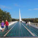 9. Redding-Red Bluff, Calif.Above, Sundial Bridge at Turtle Bay in Redding, Calif.Photo: Stephen B. Goodwin / Shutterstock
