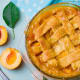 DelawarePeach pie, strawberries, milkDelaware designated peach pie as the official state dessert in 2009. Delaware was the country's leading producer of peaches for part of the nineteenth century.Photo: Shutterstock