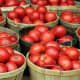 TennesseeTomatoesTomatoes are a big crop in Tennessee, worth nearly $62 million a year, according to the USDA. Above, buckets of tomatoes at the Nashville farmers market.Photo: Shutterstock