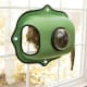 K&H Pet Products EZ-Mount Window Bubble Pod$45.51 at HayneedleSuction cups hold this bubble pod to the glass so your kittycan look out the window for hours. It holds up to 60 pounds. That's one big cat.Photo: Hayneedle