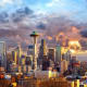 9. SeattleIncorporated businesses owned by women: 32.7%Percent of self-employed who are women: 42.1%Women's median business income: $4,534Women's average business income: $22,713Photo: Shutterstock