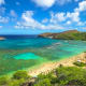 Hanauma Bay Nature Preserve, HonoluluThis nature preserve is a top destination on Oahu. Rich with marine life, it has a marine education center and volunteer booth to help visitors learn about conservation of the reef and the types of fish that live there.Photo: Shutterstock