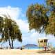 Kailua Beach Park, Kailua, HawaiiKailua Beach is 3 miles of beautiful fine, soft white sand along a crescent-shaped bay of turquoise water on the island of Oahu. It has bathrooms, showers, and picnic grounds.Photo: Osugi / Shutterstock
